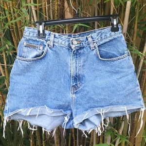 Calvin Klein Jeans Cuffed Mom Shorts Stone Washed